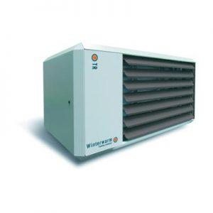 Wizualizacja nowoczesnej nagrzewnicy gazowej Winterwarm TR