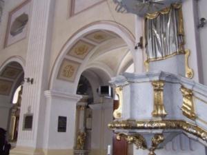 Obiekt sakralny (kościół) wyposażony w nowoczesną kompaktową nagrzewnicę gazową Winterwarm XR ze sterownikiem MTC.
